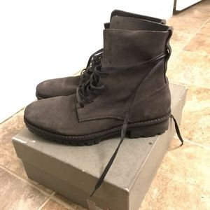 NWT Suede Neptune All Saints boots